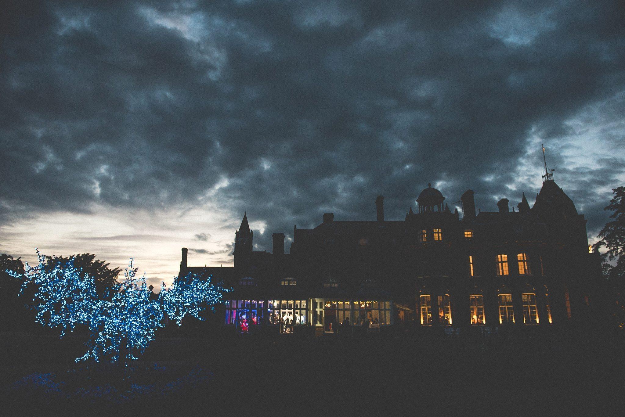 Elvetham Hotel at Night
