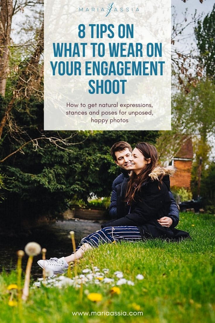What to wear on your engagement shoot | Maria Assia Photography