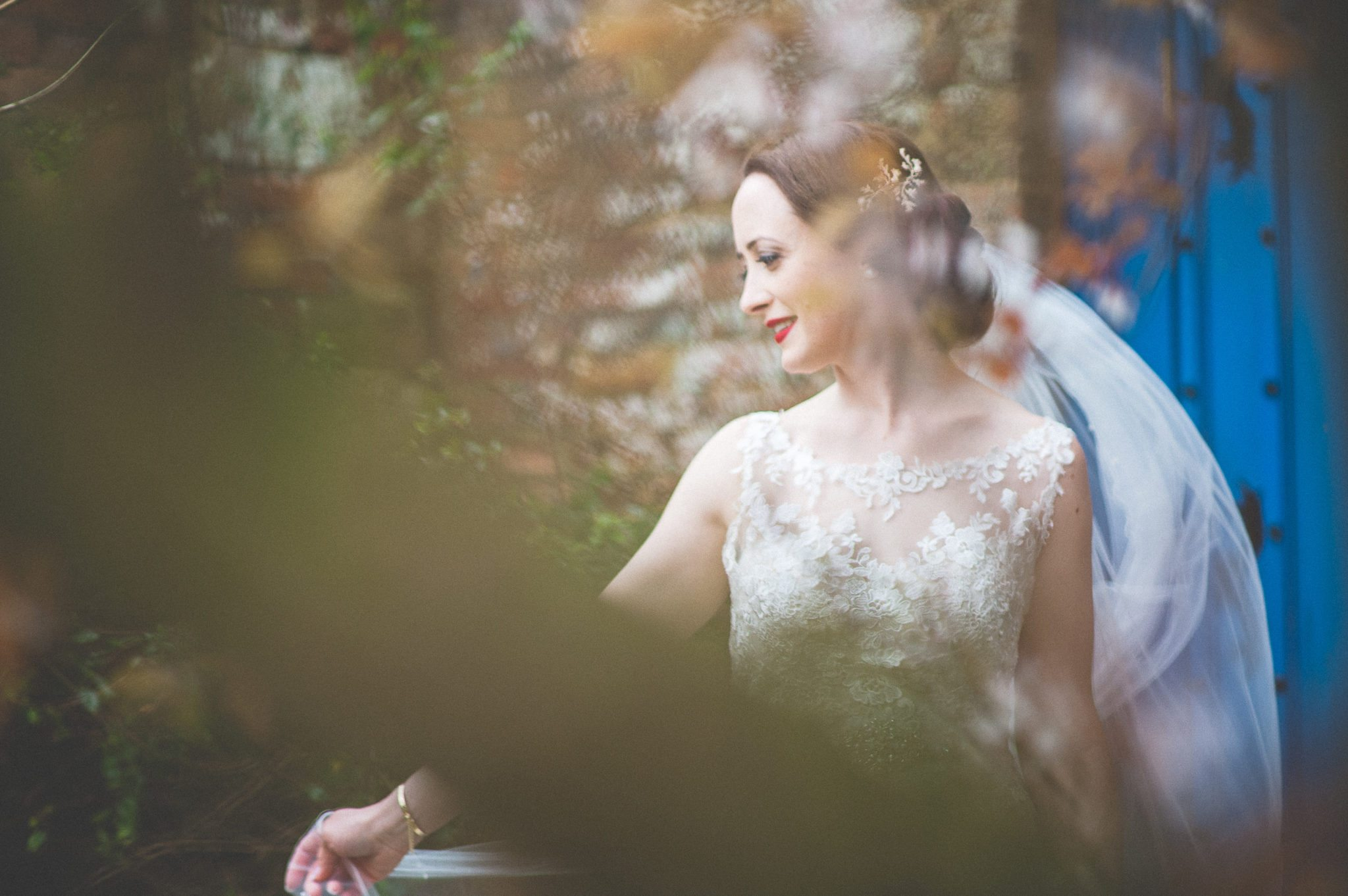 Farnham Castle Bride Portrait
