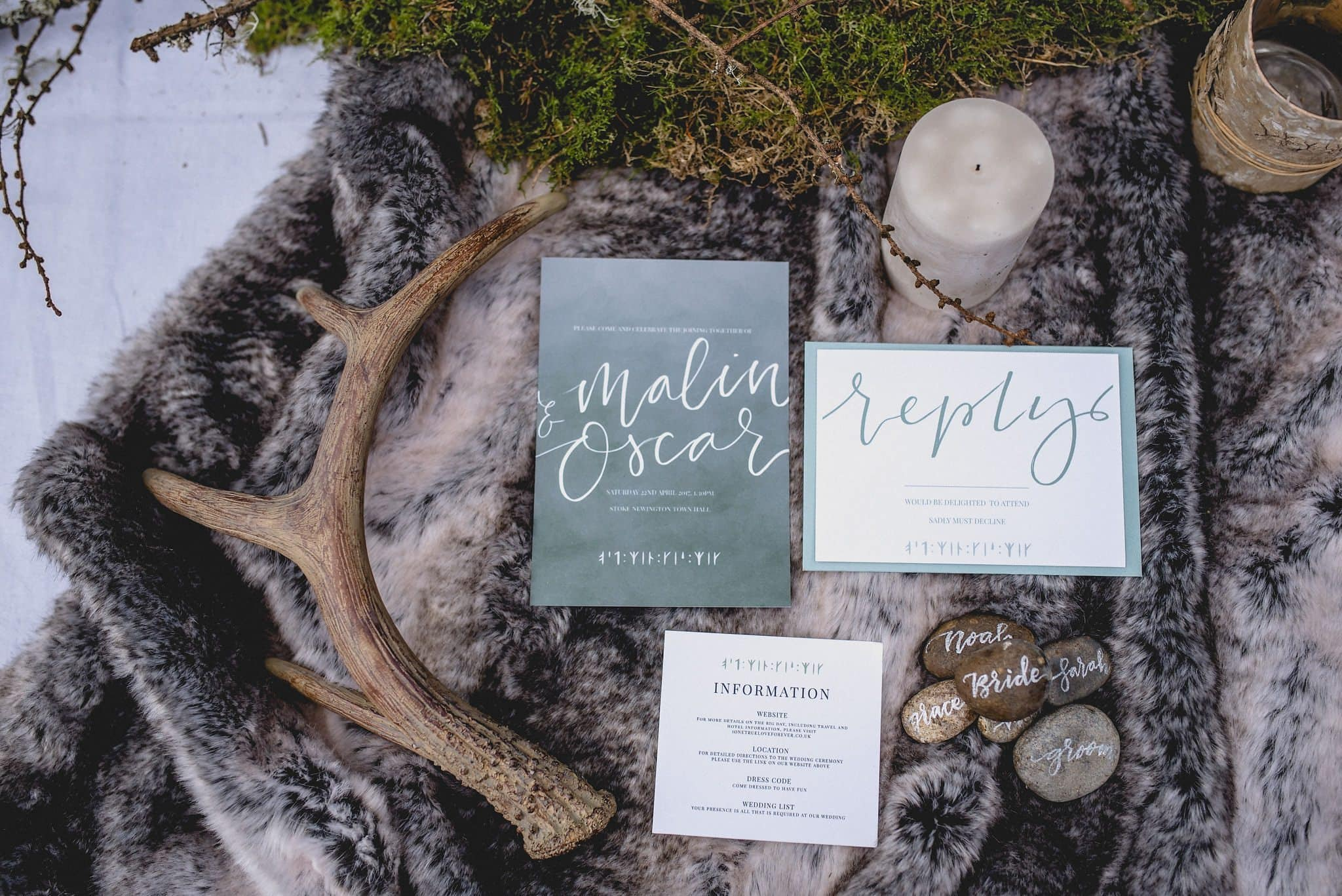 Wedding stationery with a Norse theme | Start Wedding Planning