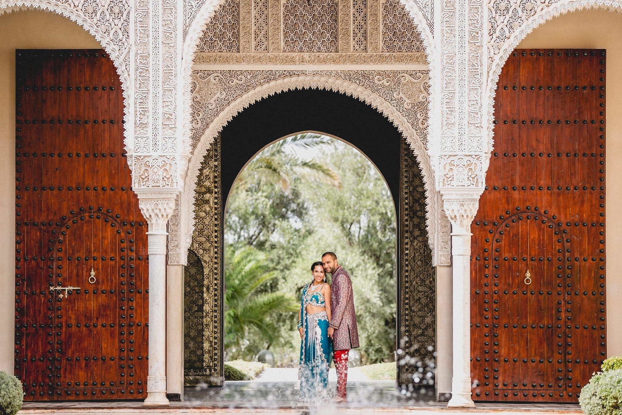 Colourful Indian Marrakech Destination Wedding | Maria Assia Photography