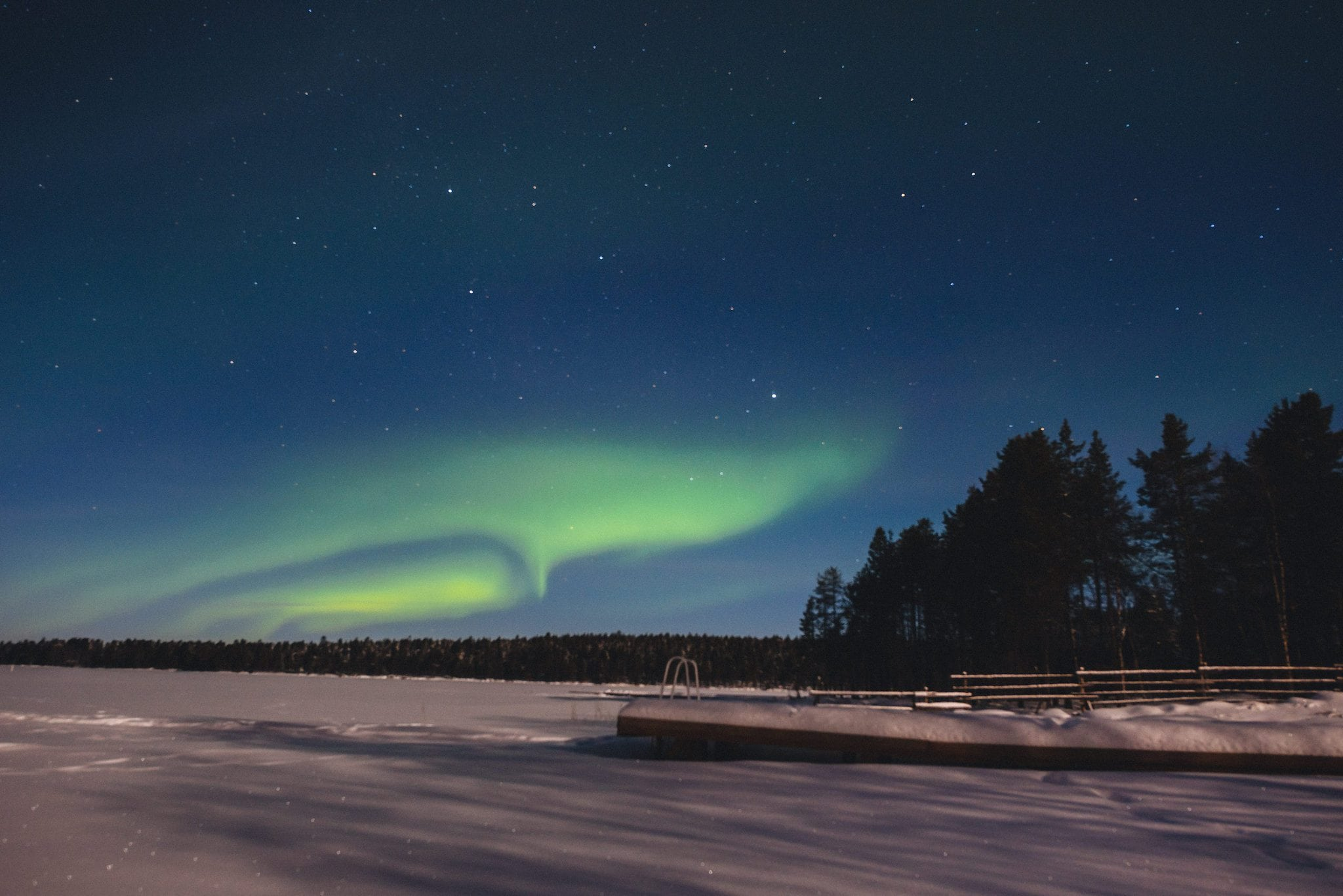 Magical Winter Northern Lights Photoshoot | Maria Assia Photography