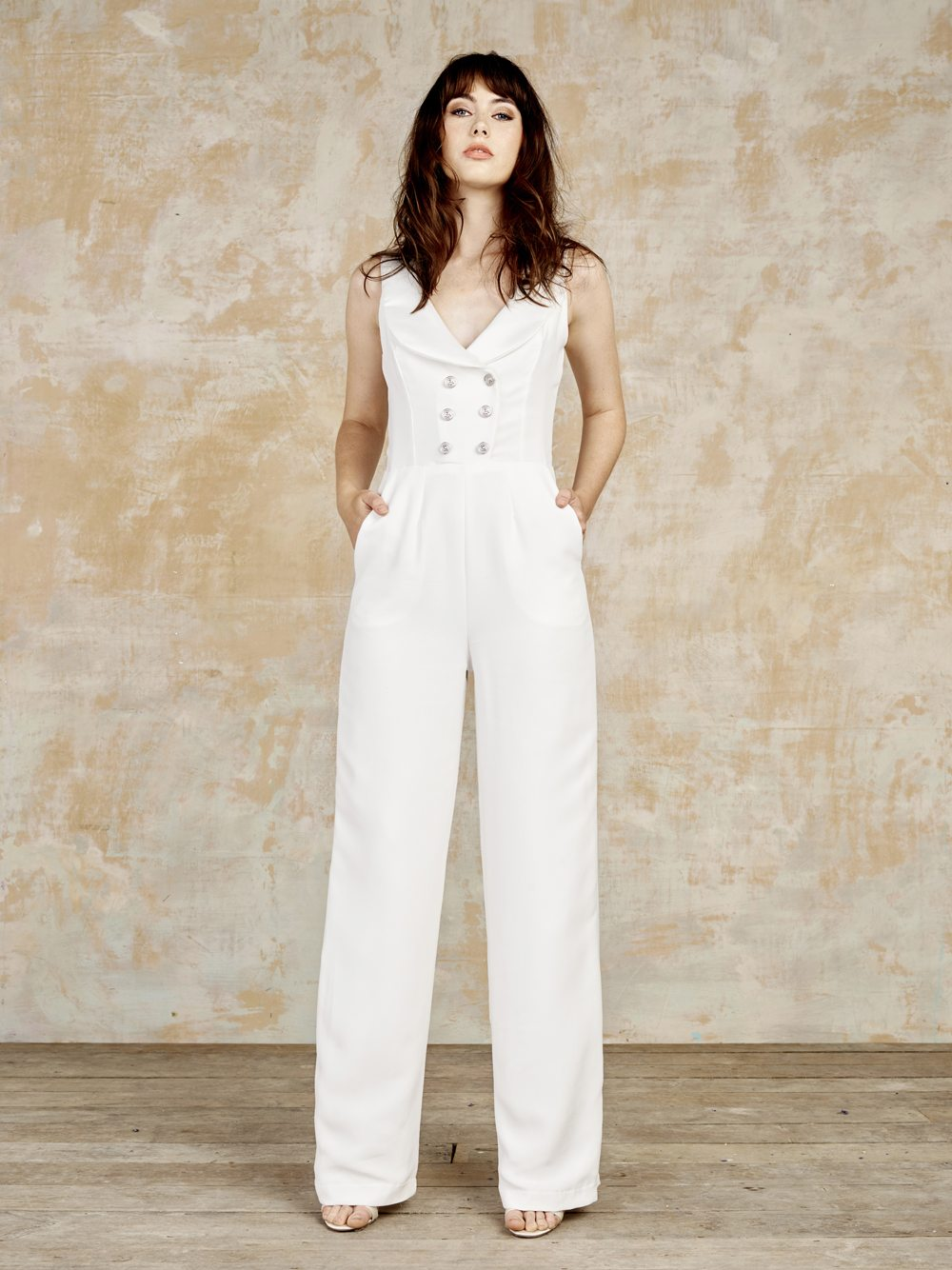 Laird bridal jumpsuit from House of Ollichon