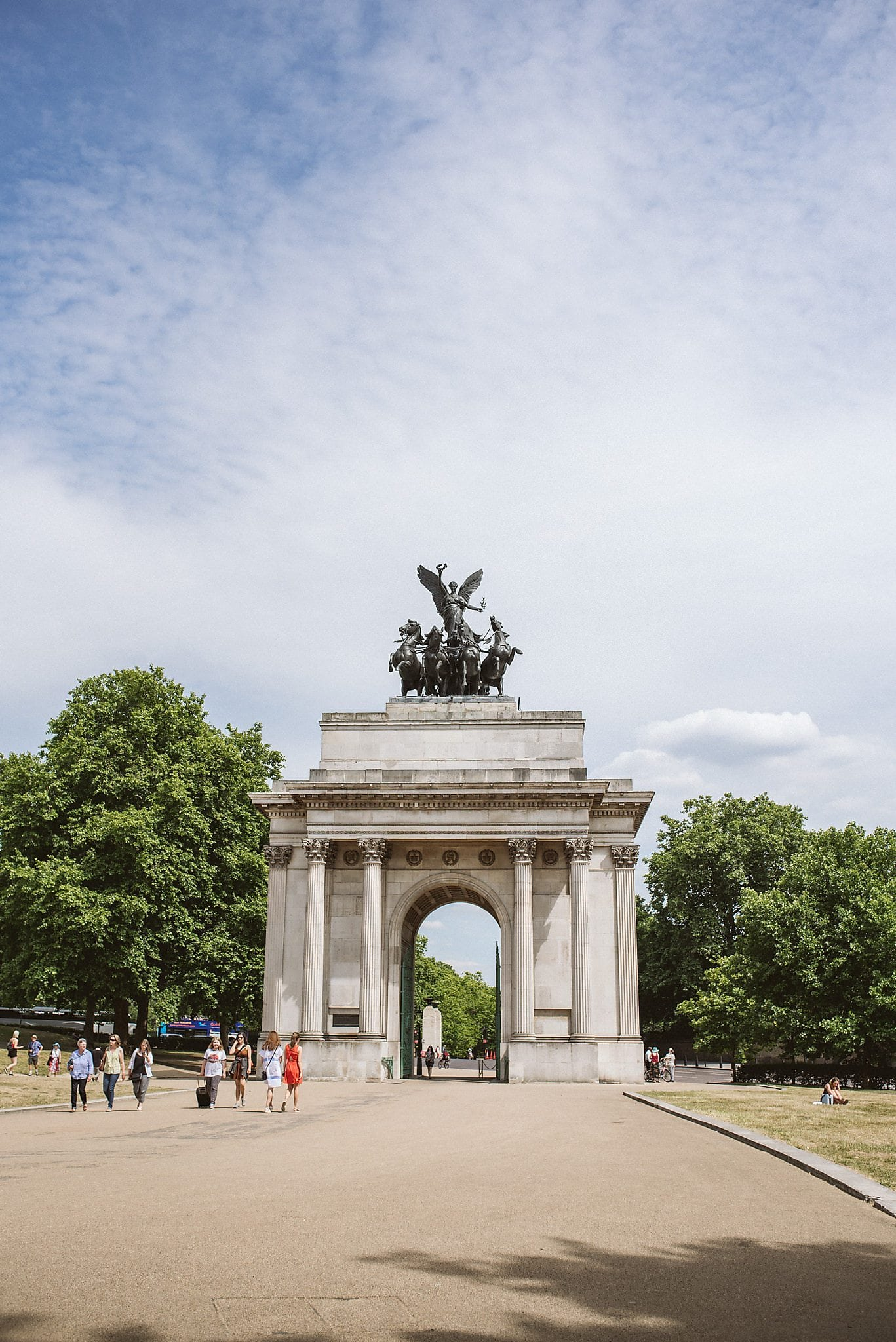 Marble Arch in London Hyde Park