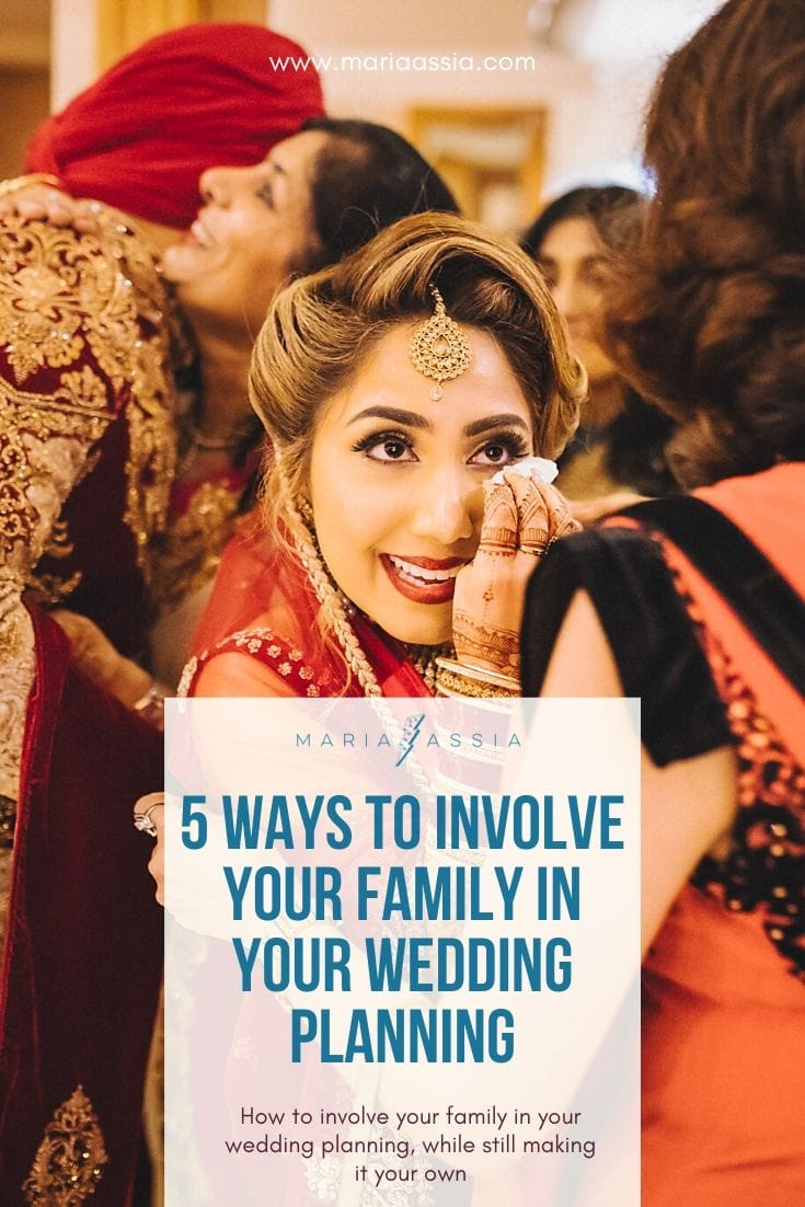 Involve family in your wedding planning