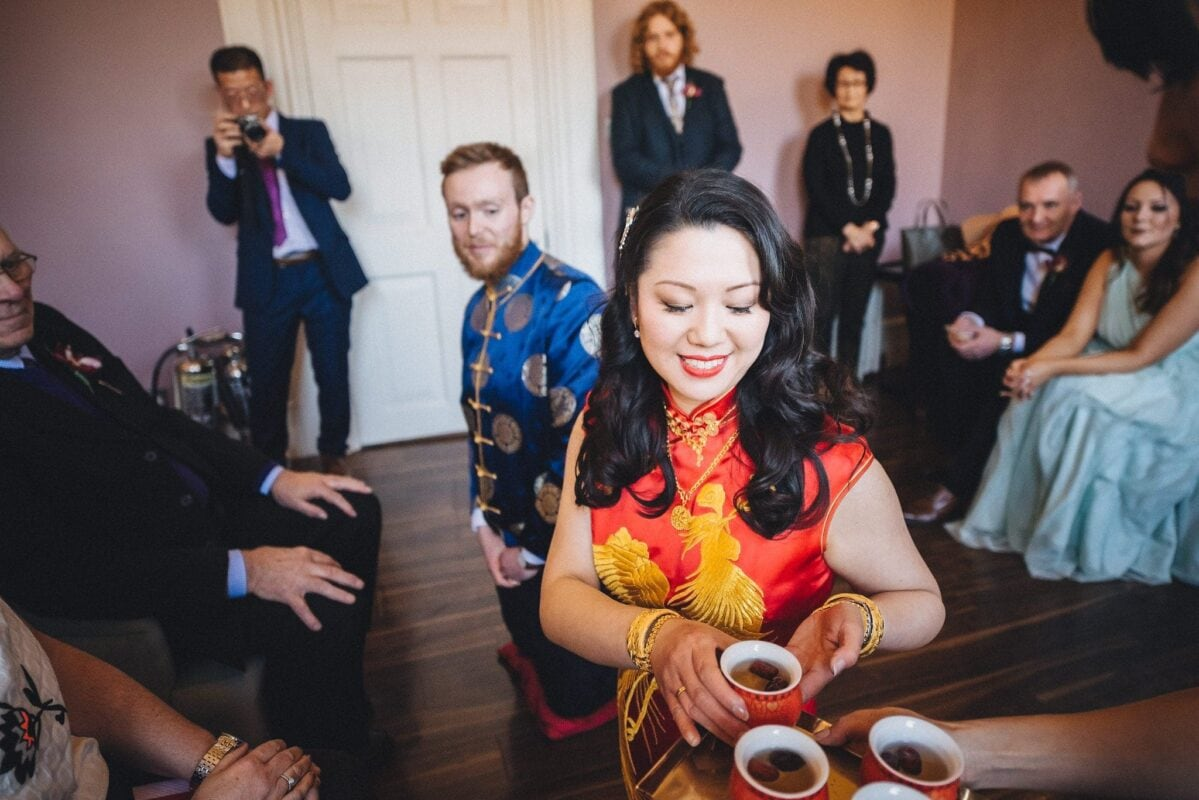 A Sunny Fusion Morden Hall Wedding | Maria Assia Photography