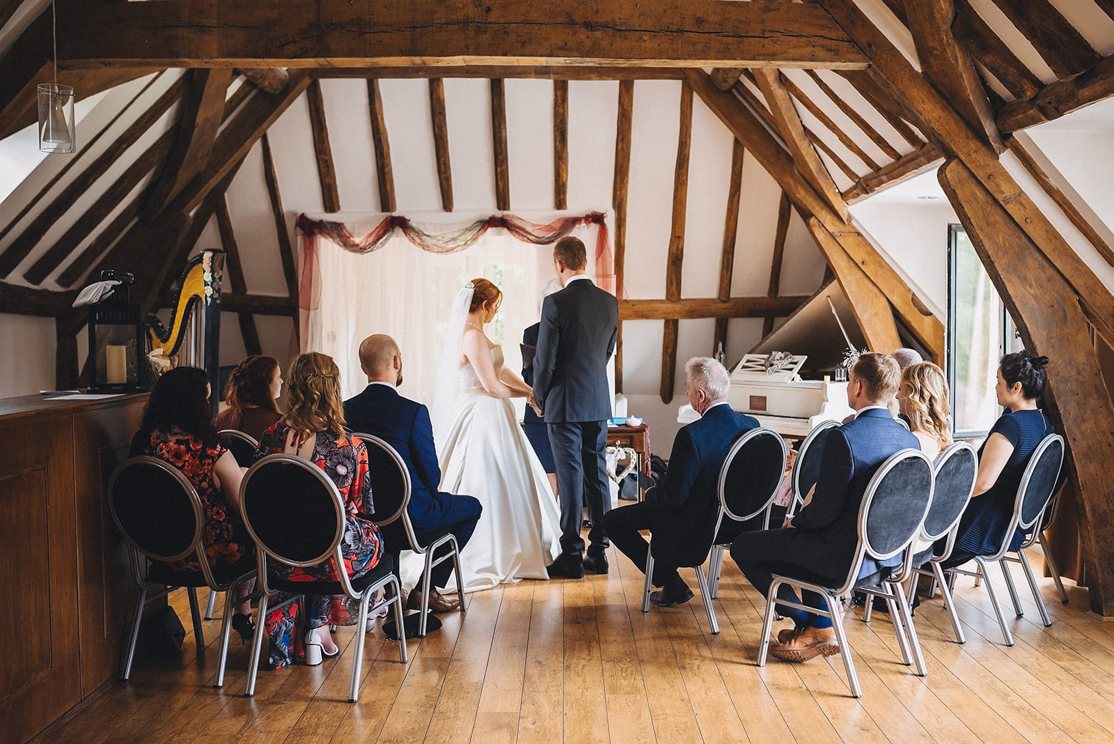 Microwedding ceremony at the Hever Hotel in Kent