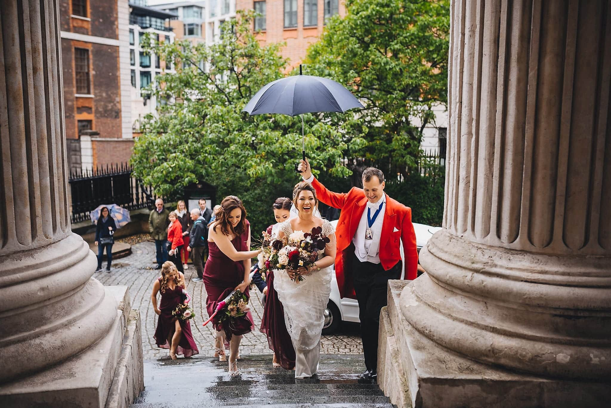 St Paul's Cathedral Wedding | Documentary Wedding Photographer Maria Assia Photography