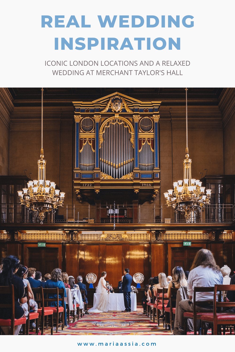Iconic London Locations And A Relaxed Wedding at London's Merchant Taylor's Hall