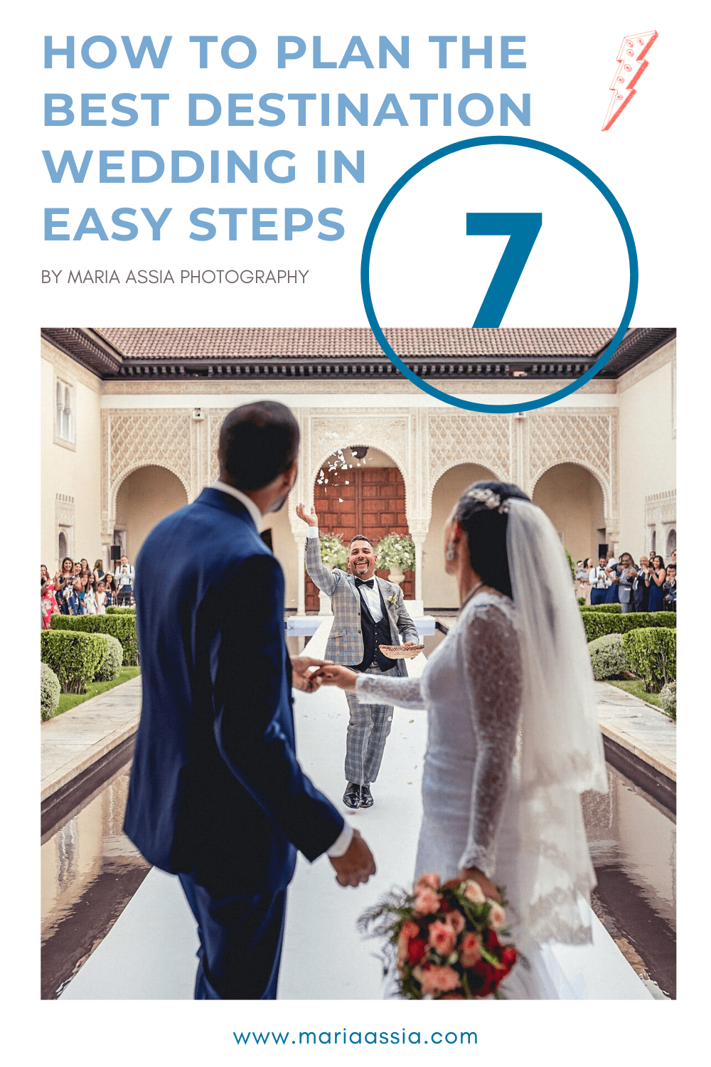 How to plan your destination wedding in 7 easy steps pinterest picture