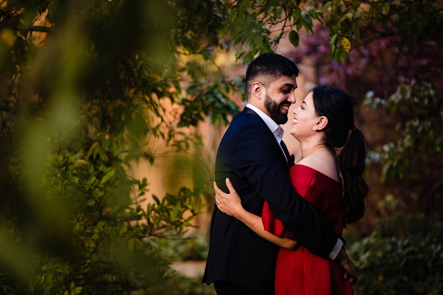 Golden Light Engagement at London's Hill Garden and Pergola   Maria Assia Photography