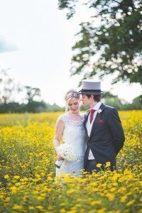 Beautiful wedding photography of bride and groom standing in Coworth Park