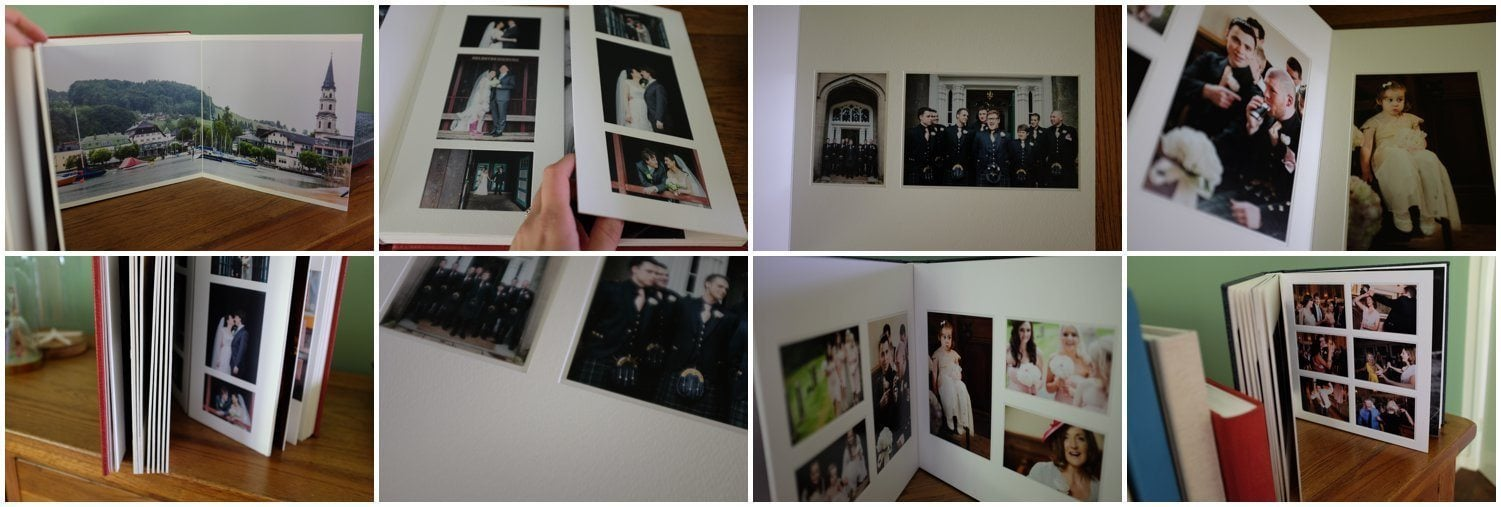 Traditional matted Wedding Albums by Maria Assia Photography