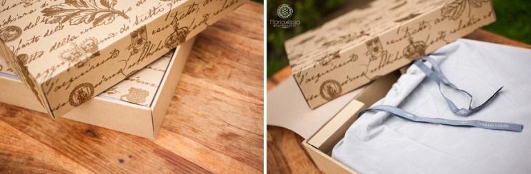 Queensberry album in its box and velvet bag