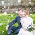 Billesley Manor Hotel Fuchsia Spring Wedding