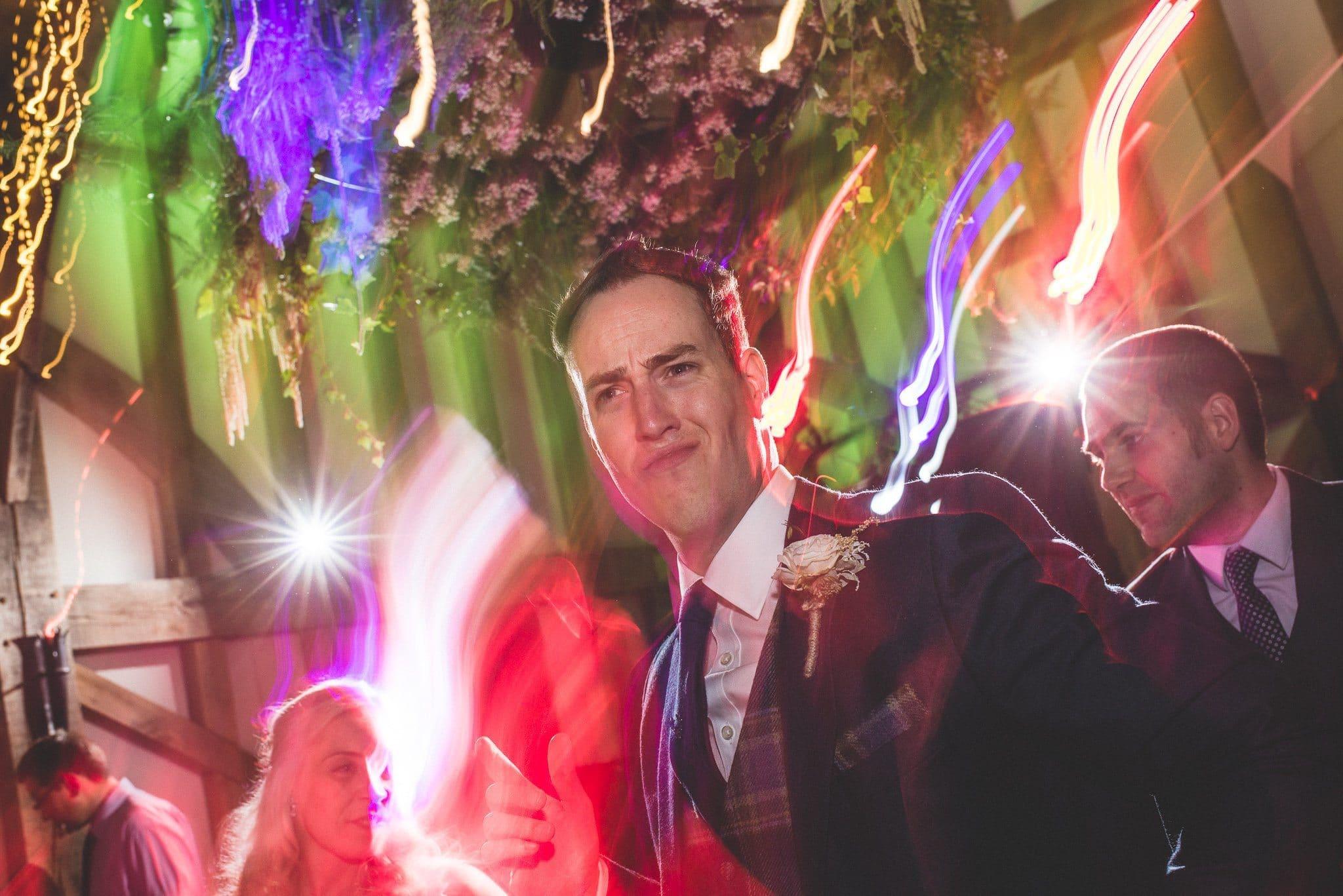 Philip rocks out on the dancefloor