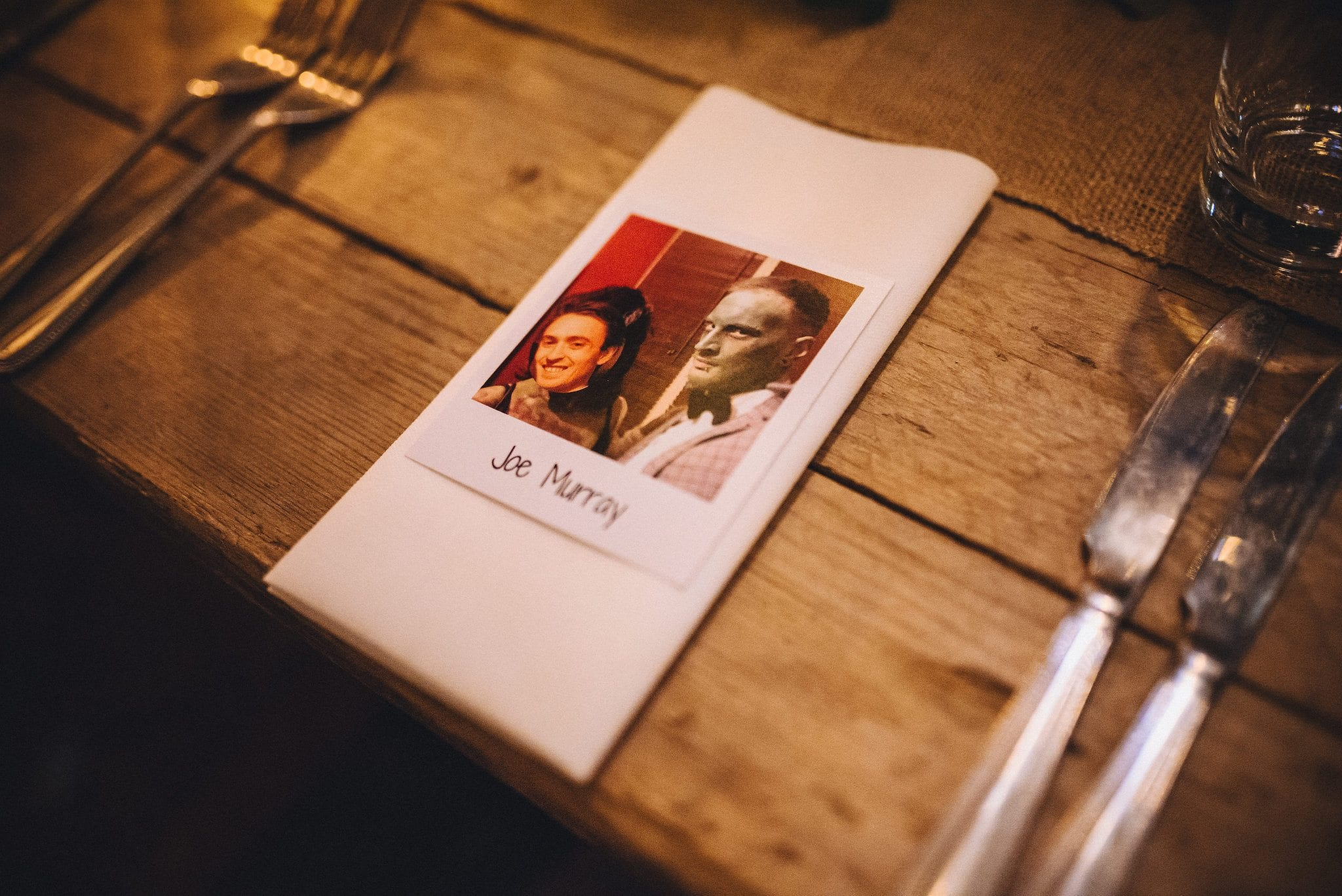 Hilarious photoshopped place cards