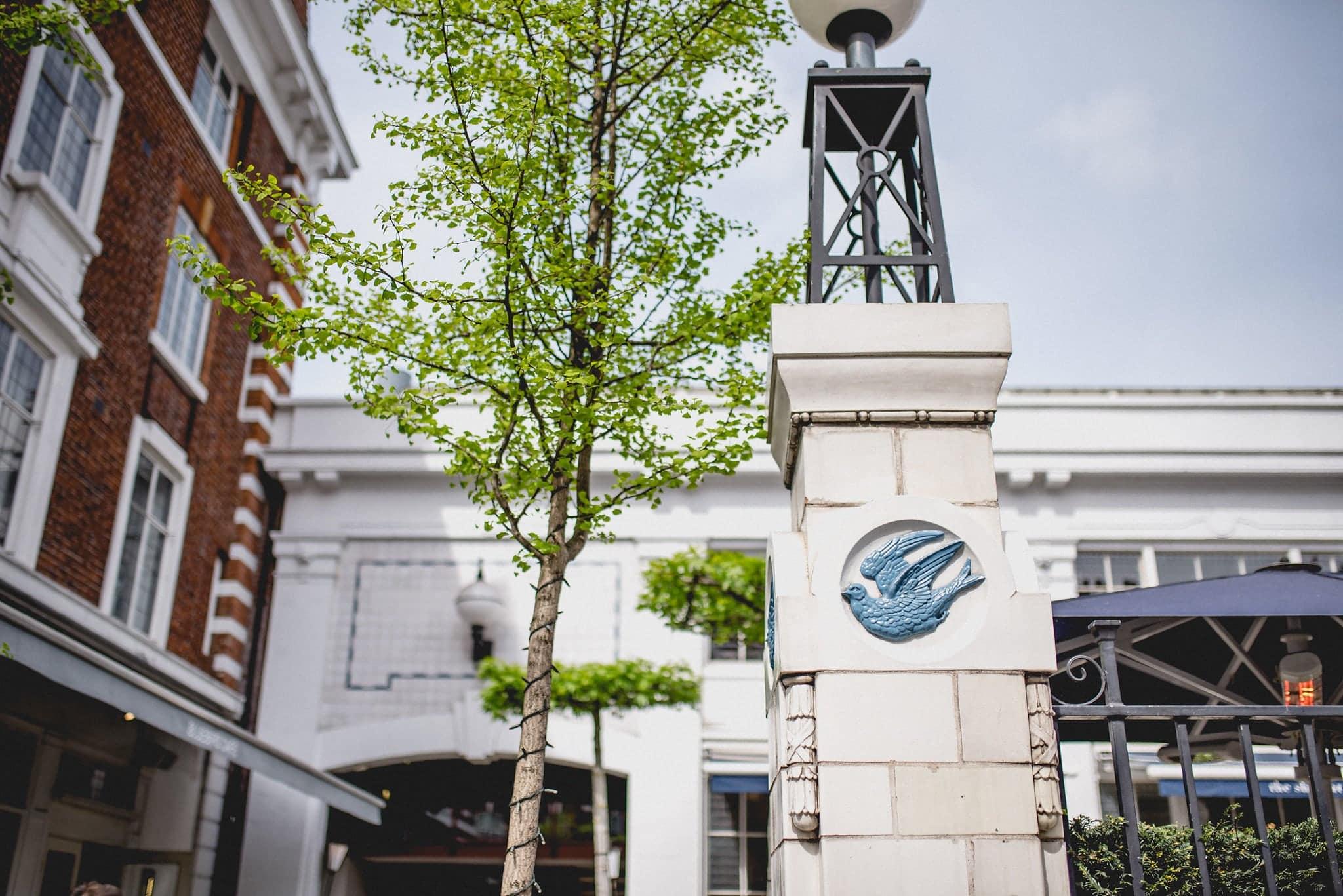Exterior shot of The Bluebird, Chelsea