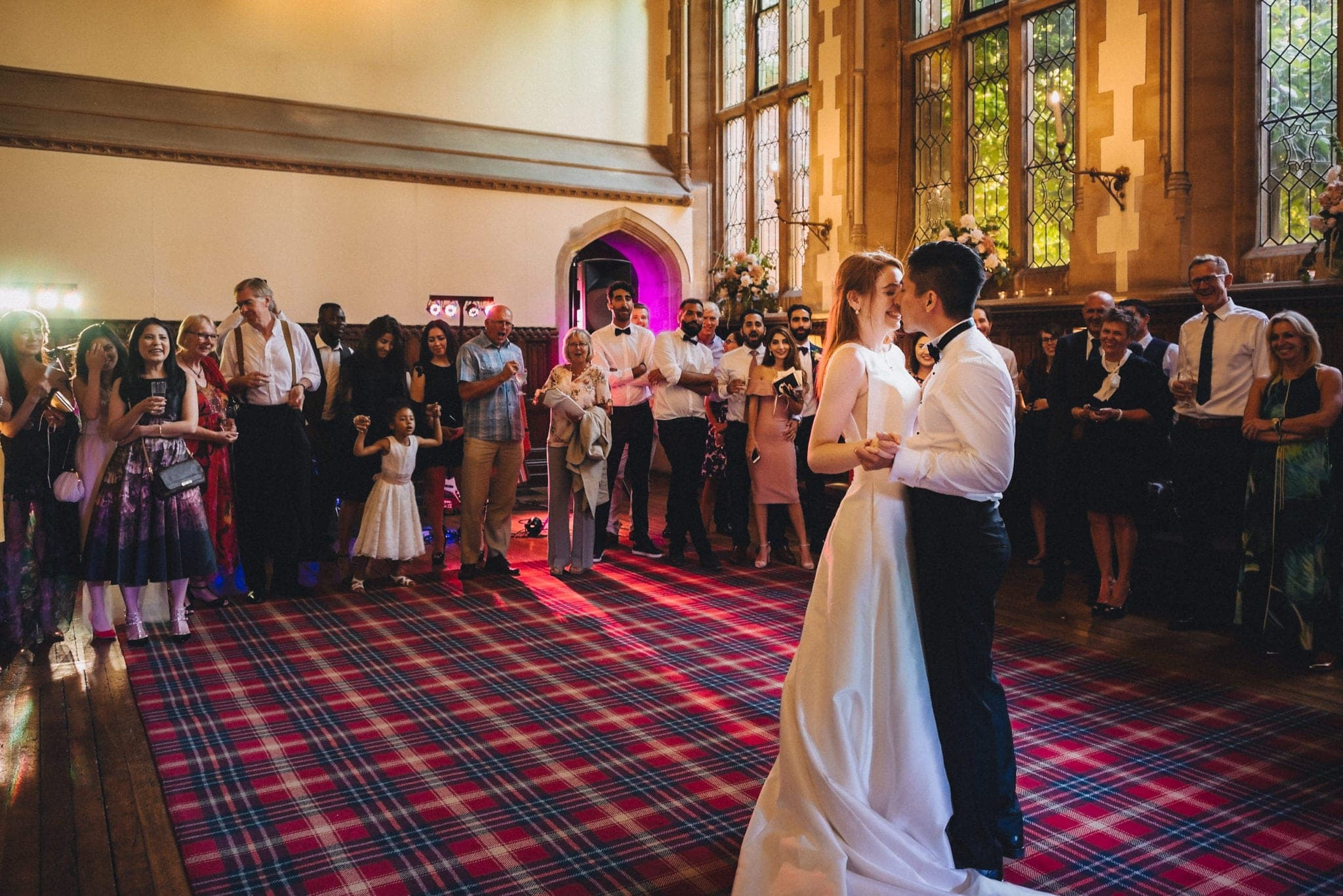First dance at glamorous St Audries Park wedding
