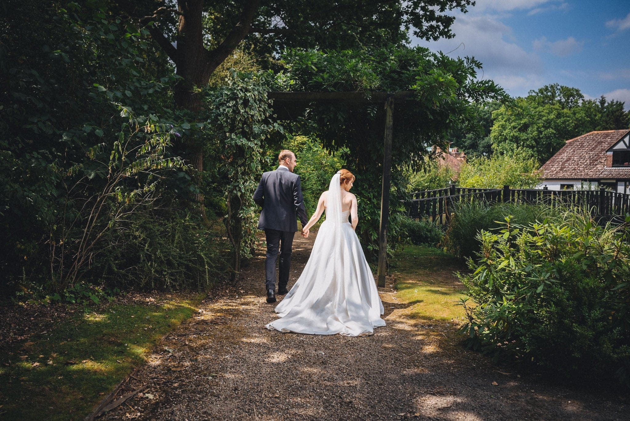 Joyful Intimate Hever Hotel Wedding